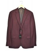 EMPORIO ARMANI(エンポリオアルマーニ)の古着「2Bジャケット」|ボルドー