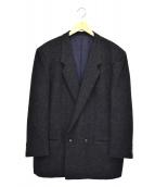 COMME des GARCONS HOMME DEUX(コムデギャルソン オム ドゥ)の古着「ウールテーラードジャケット」|ネイビー