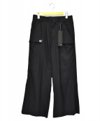 TAAKK(ターク)の古着「アイレットパンツ」|ブラック