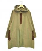 ts(s)(ティーエスエス)の古着「ケープコート」 オリーブ