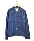 VISVIM(ヴィズヴィム)の古着「デニムジャケット」 インディゴ