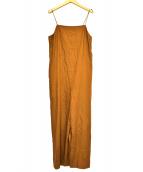 VERMEIL par iena(ヴェルメイユ パー イエナ)の古着「オールインワン」|ブラウン