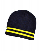 Martin Margiela1(マルタンマルジェラ1)の古着「ラインニット帽」|ネイビー