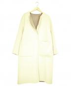 EMMEL REFINES(エメル リファインズ)の古着「リバーコート」|ベージュ