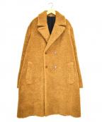 STELLA McCARTNEY(ステラマッカートニー)の古着「ダブルボアコート」|ブラウン