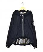DKNY(ダナキャランニューヨーク)の古着「ショートマウンテンパーカー」 ブラック