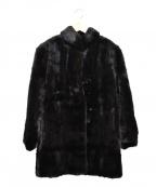 SAGA MINK(サガミンク)の古着「ミンクファーコート」|ブラック