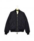 MONITALY(モニタリー)の古着「リバーシブルキルティングジャケット」|ブラック