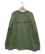 M+RC NOIR(マルシェノア)の古着「クルーネックスウェット」|グリーン