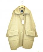 GALLEGO DESPORTES(ギャレゴデスポート)の古着「ダブルウールコート」|ベージュ