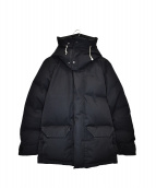 THE NORTH FACE(ザノースフェイス)の古着「ウィンドストッパーブルックスレンジパーカーダウンジャケット」|ブラック