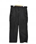SSZ(エスエスズィー)の古着「シャカワイドパンツ」|ブラック
