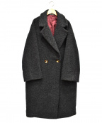 kelen(ケレン)の古着「ビックテーラードコート」 グレー