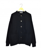 yashiki(ヤシキ)の古着「アケボノカラーカーディガン」|ブラック