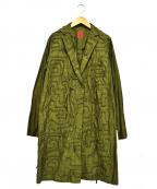 HaaT(ハート)の古着「デザインコート」 オリーブ
