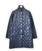 Traditional Weatherwear(トラディショナルウェザーウェア)の古着「キルティングダウンコート」|ネイビー