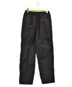 TEATORA(テアトラ)の古着「ウォレットパンツパッカブル」|ブラック
