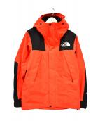 THE NORTH FACE(ザノースフェイス)の古着「マウンテンジャケット」|ブラック×オレンジ