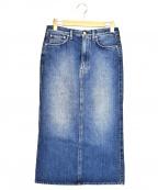 toteme(トーテム)の古着「デニムスカート」|ブルー
