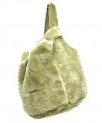 ANITA BILARDI(アニタビラルディ)の古着「ムートンファーハンドバッグ」 グレー