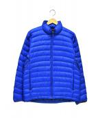 Marmot(マーモット)の古着「ダウンジャケット」 ブルー