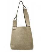 zattu(ザッツ)の古着「マイクロファイバースエードショッパーライクバッグ」|グレー
