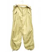 BEAMS BOY(ビームス ボーイ)の古着「USARMYオーバーパンツ」|ベージュ