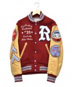 whitesville(ホワイツビル)の古着「レザーアワードジャケット」|ブラウン×ボルドー