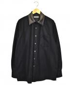 OUR LEGACY(アワーレガシー)の古着「アバーブシャツ」 ブラック