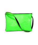 SueUNDERCOVER(スーアンダーカバー)の古着「ショルダーバッグ」|ブラック×グリーン