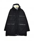 vainl archive(ヴァイナルアーカイブ)の古着「撥水フーデットジャケット」|ブラック
