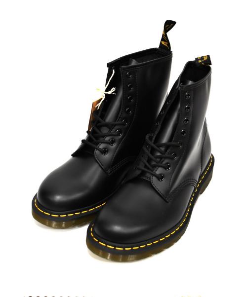 Dr.Martens(ト゛クターマーチン)Dr.Martens (ドクターマーチン) 8ホールブーツ ブラック サイズ:UK9 未使用品の古着・服飾アイテム