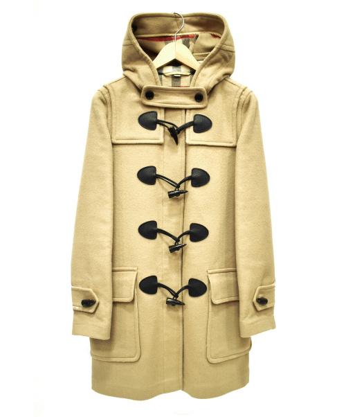 BURBERRY BRIT(バーバリーブリット)BURBERRY BRIT (バーバリーブリット) ウールダッフルコート ブラウン サイズ:UK4の古着・服飾アイテム