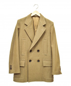 AURALEE()の古着「ベースレンジジャケット」|ブラウン