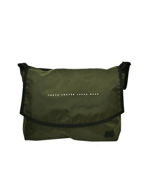 PORTER(ポーター)PORTER (ポーター) メッセンジャーバッグ グレー サイズ:下記参照の古着・服飾アイテム