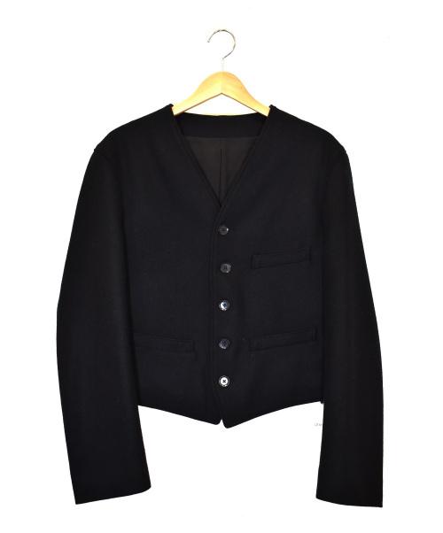 LEMAIRE(ルメール)LEMAIRE (ルメール) フェルテッドウールベストジャケット ブラック サイズ:46 2019年A/W FELTED WOOL VEST JACKETの古着・服飾アイテム