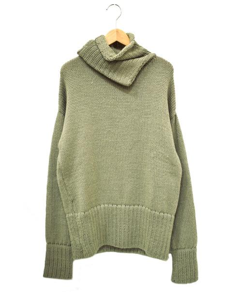 SEEALL(シーオール)SEEALL (シーオール) ダブルハイネックセ-ター グレー サイズ:1 SAU01 KN294 DOUBLE HIGH NECK SWEATERの古着・服飾アイテム