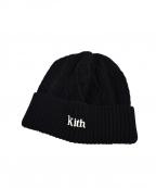 KITH(キス)の古着「ビーニーニット帽」|ブラック