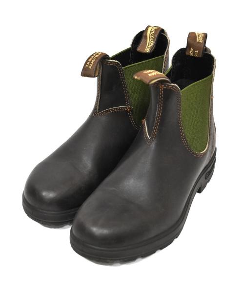 BLUND STONE(ブランドストーン)BLUND STONE (ブランドストーン) サイドゴアブーツ ブラウン サイズ:4 BS519408の古着・服飾アイテム