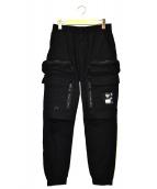 UNDERCOVER(アンダーカバー)の古着「ウェザーアーミーロングパンツ」 ブラック