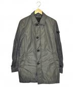 PEUTEREY(ピューテリー)の古着「ナイロンコート」 グレー