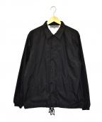 GOOD DESIGN SHOP COMME des GARCONS(グッドデザインショップ コムデギャルソン)の古着「バックロゴコーチジャケット」 ブラック