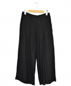 Y's(ワイズ)の古着「タックワイドパンツ」|ブラック