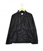 POST O'ALLS(ポストオーバーオールズ)の古着「ナイロンジャケット」|ブラック