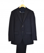 azabu tailor(アザブテーラー)の古着「2Bセットアップスーツ」 ネイビー