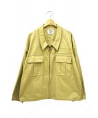 RICE NINE TEN(ライスナインテン)の古着「ミリタリージャケット」|ベージュ