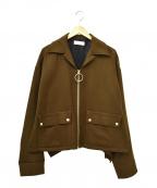NEON SIGN()の古着「ブレーカージャケット」|ブラウン