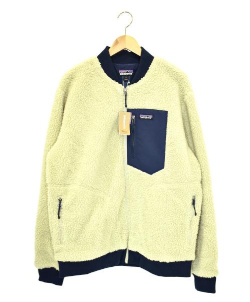 Patagonia(パタゴニア)Patagonia (パタゴニア) レトロXボマージャケット アイボリー×ネイビー サイズ:L 未使用品 2283の古着・服飾アイテム