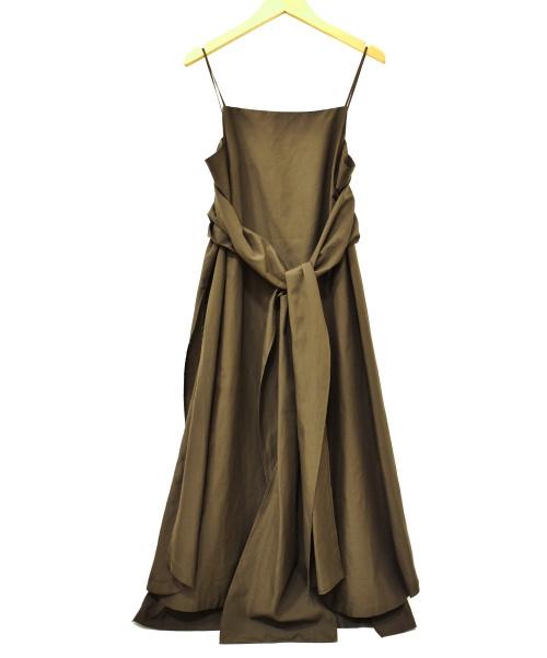 IIROT(イロット)IIROT (イロット) キャミソールワンピース ブラウン サイズ:FREE 018-WD01の古着・服飾アイテム