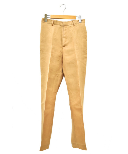 AURALEE(オーラリー)AURALEE (オーラリー) センタープレスパンツ ベージュ A9SP02DOの古着・服飾アイテム